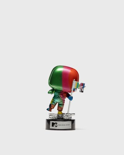 POP Ad Icons: MTV- Moon Person (Rainbow)